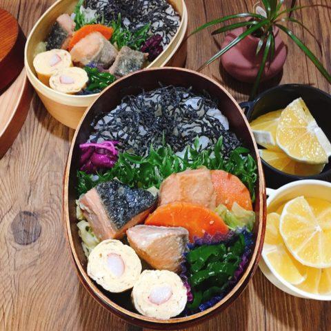 鮭のちゃんちゃん焼き弁当2人分