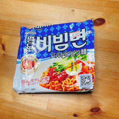韓国のパルドビビン麺