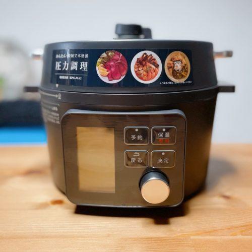 アイリスオーヤマの電気圧力鍋