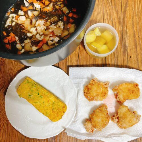 炊き込みご飯弁当の前日の作り置き