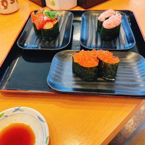 沼津魚がし鮨単品のお寿司