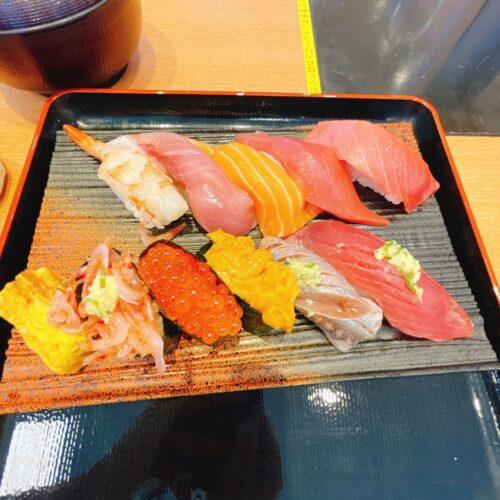 沼津魚がし鮨のお寿司