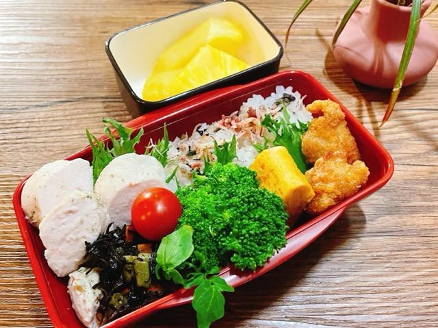 ダイエット男子高校生のお弁当