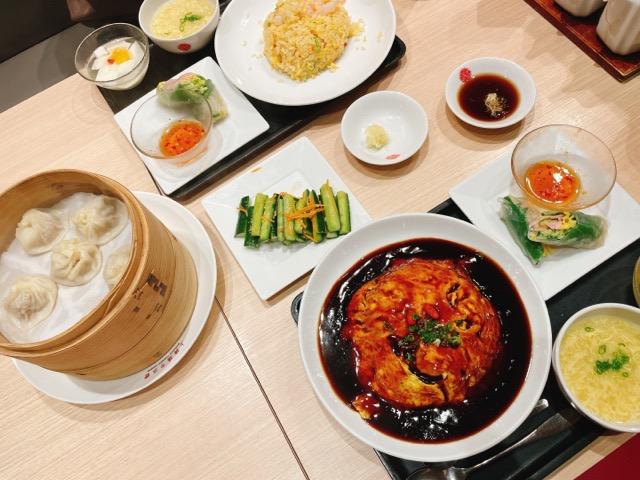 上海湯包小館のセットメニュー