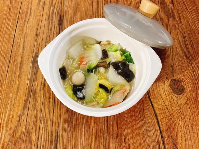 八宝菜のお弁当の前日準備した作り置き